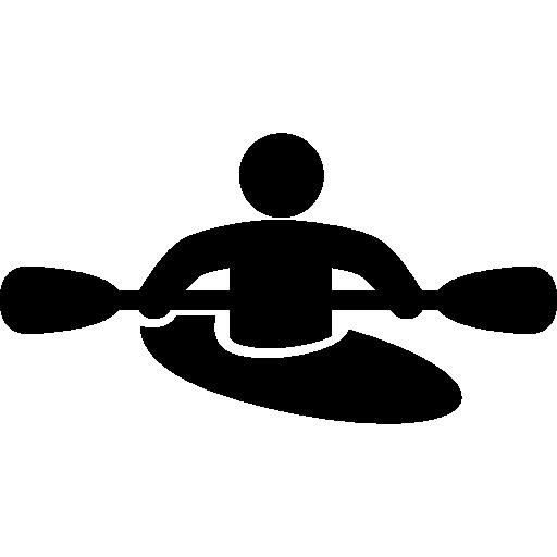 Kayaking Person